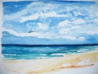 Nuages en formation (aquarelle, 30x40, 2011)