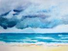 Avant l'orage (aquarelle, 30x40, 2011)