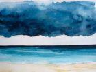 Jour d'orage (aquarelle, 30x40, 2011)