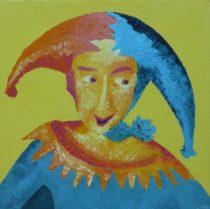 Till Eulenspiegel (huile, 60x60, 2014)