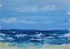 mer vaporeuse (aquarelle, 30x40, 2014)