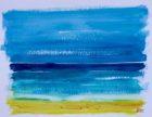 Mer calme (aquarelle, 30x40, 2014)