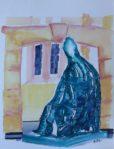 Bischof, 30x40, Aquarell, Januar 2014