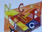 Gutenberg (aquarelle, 30x40, 2013)