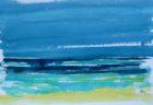 Mer à midi (aquarelle, 30x40, 2014)